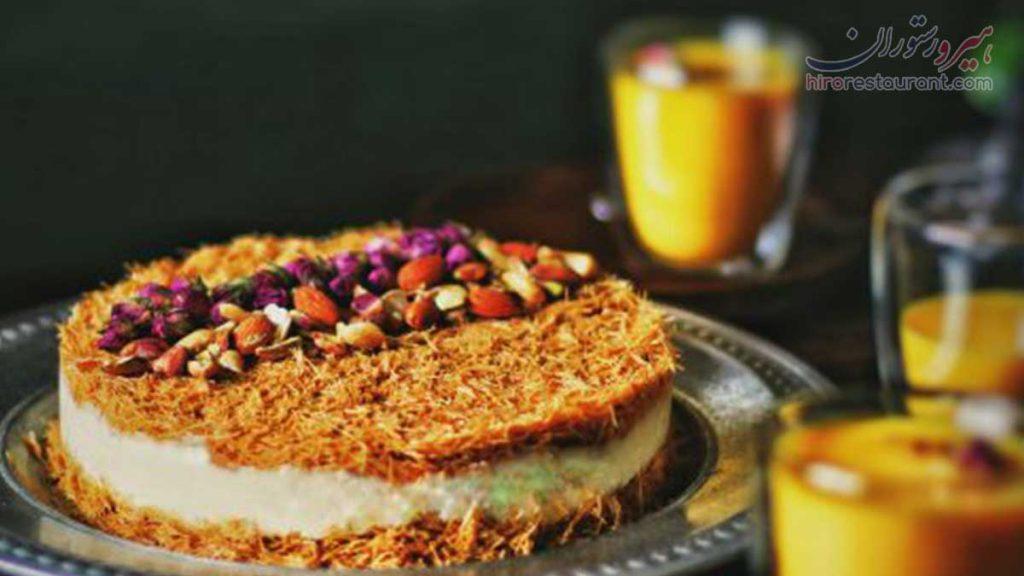 طرز پخت کیک کادایف