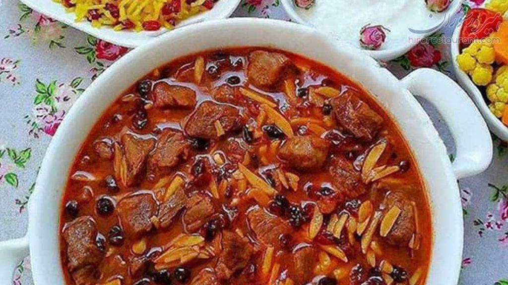 معرفی غذاهای سنتی کرمانشاه