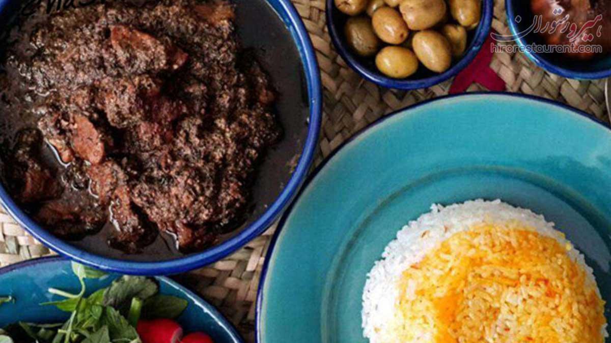 طرز تهیه خورش گمج کباب گیلانی